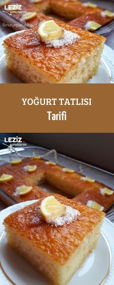 Yoğurt Tatlısı Tarifi - Leziz Yemeklerim - galletas - Las recetas más prácticas y fáciles Sheet Cake Recipes, Cookie Recipes, Easy No Bake Desserts, Oreo Desserts, Good Food, Yummy Food, Turkish Recipes, Cake Cookies, The Best