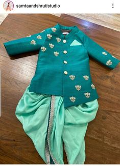 Ethnic Wear For Boys, Kids Wear Boys, Kids Outfits Girls, Baby Boy Ethnic Wear, Boy Outfits, Indian Dresses For Kids, Kids Indian Wear, Baby Birthday Dress, Baby Boy Dress