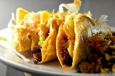 "JUST LIKE JACK IN THE BOX TACOS: ~ From: ""AllFreeCopycatRecipes.Com"" ~ By: Biz from ""My Bizzy Kitchen.Com."" ~ This Jack in the Box Tacos recipe replicates the famous fried tacos you can't seem to find anywhere else. These tacos may be fried, but they are not greasy at all. This taco recipe also includes the Jack in the Box secret sauce recipe which is ever so important to accurately mimicking the famous fast food taco."