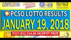 PCSO Lotto Results Lotto Results, January 2018, December 26, July 24, Youtube, Youtubers, Youtube Movies