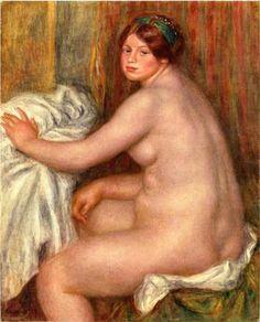 Seated Bather - Pierre-Auguste Renoir