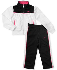 Nike Little Girls' 2-Piece Jacket & Pants Set