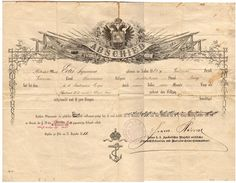 Great-grandfather Édes Zsigmund joined the kuk Navy in 1879 when he was 17 years old. He completed his service in 1888 as a seaman class (Matrose IV classe). Navy, Hale Navy, Old Navy, Navy Blue