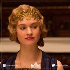Lady Rose's headband, Series 4 #1920s #Vintage #DowntonAbbey