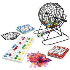 Deluxe All-In-One Complete Bingo Set - New Larger Size! by Brybelly. Deluxe All-In-One Complete Bingo Set - New Larger Size!.