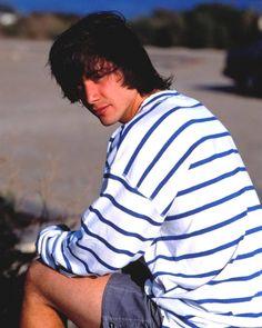 Keanu Reeves by Michael O'Brien 1987 Keanu Reeves Young, Keanu Reeves John Wick, Keanu Charles Reeves, River Phoenix Keanu Reeves, Attractive People, Beautiful Soul, No One Loves Me, My Man, Pretty Boys