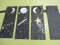 """Punts de llibre:""""Les fases de la lluna"""""""