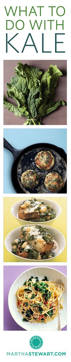 Over 20 delicious ways to cook kale.