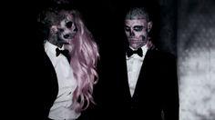 "Lady Gaga and Rick Genest, aka Zombie Boy, in ""Born This Way"""