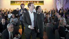 Facebook-Gründer Mark Zuckerberg und seine Frau Priscilla Chan auf dem Weg zur Verleihung des Axel Springer Awards