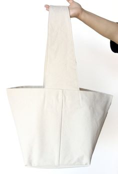 0056e17992e9 Oversized Canvas Tote - Various Colors