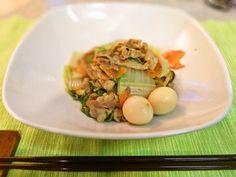 八宝菜風!豚バラと白菜の炒め物