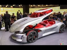 Renault Trezor Concept | Full Design, Interior | 2016