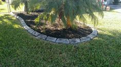 Custom hand Carved Curbing in Cape Coral and Fort Myerts Fl.  See more at msdcurbing.com