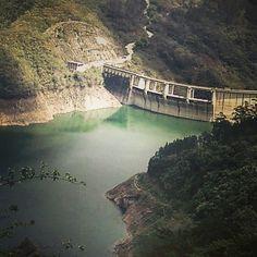 En la presa Jiguey; Los Cacaos, San Cristóbal, Rep. Dom.