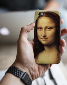 Mona Lisa - Da Vinci Art Painting iPhone 6S Case, iPhone 6 Plus Cover, Samsung Galaxy Case, HTC Case, Sony Xperia Case, LG G4 Case, Huawei Case, Galaxy Note Case, phone case