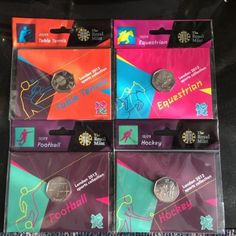 Sealed london olympic 2012 50p #coins football, #hockey, equestrian, table #tenni,  View more on the LINK: http://www.zeppy.io/product/gb/2/252578679177/