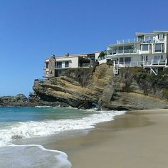 Beach houses....Laguna Beach