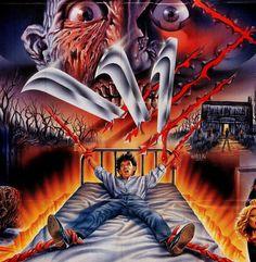 A Nightmare on Elm Street 3 Art