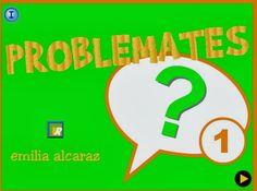 PROBLEMES VISUALS Tech Companies, Company Logo, Math, Digital, Tic Tac, School, Math Classroom, Math Word Problems