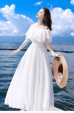Dress Outfits, Casual Dresses, Fashion Dresses, Girls Dresses, Prom Dresses, Wedding Dresses, Ulzzang Fashion, Korean Fashion, Korean Outfits