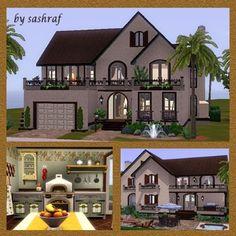 Casa de la Familia by sashraf - The Exchange - Community - The Sims 3