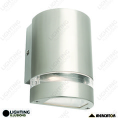 Hastings Stainless Steel Exterior Wall Light  $48