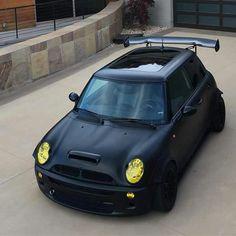 Matte black R53
