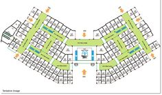 Site Plan Of Cosmic Corporate 2 Noida