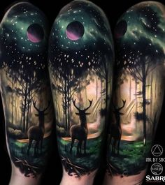 85+ Inspiring Deer Tattoo Designs | Art and Design