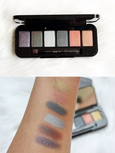 Buxom Custom Shadow Palette - super pigmented and creamy formula!