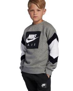 Online Shopping For Boys Nike Outfits, Boy Outfits, White Nike Sweatshirt, Graphic Sweatshirt, Little Boy Fashion, Kids Fashion Boy, Boys Hoodies, Sweatshirts, Kids Wardrobe