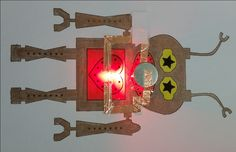 Robot Paper Circuit Card project from Kaleidoscope Enrichment