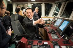 20 Feb, 2016 Naoto Kan, Prime Minister of Japan at the time of the Fukushima Daiichi nuclear accident starting 11.03.2011, was onboard the Rainbow Warrior, as it sailed passed the destroyed nuclear plant. Greenpeace launched an underwater investigation into the marine impacts of radioactive contamination. Kan declared that it is not over, including major threats from contaminated water from the site; restated his opposition to nuclear power in Japan and called for renewable based energy…