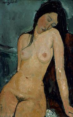 "Amedeo Modigliani ""Nude"", 1917"