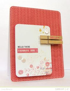 @Studio Calico Neverland kits card - created with some of the fab March add ons.
