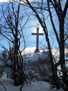 La Croix du Nivolet à 1547 mètres d'altitude