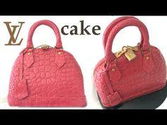 HAND BAG CAKE How To Cook That Ann Reardon Louis Vuitton - YouTube