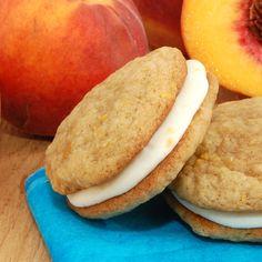 Peach Whoppie Pies