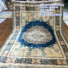 Handmade Silk Carpets & Rugs from Yilong Carpet factory.#art #chineseroundsilkrugs #ghomsilkrug #100%silkrugsforsale #roundrug #roundcarpet #silkpersianrugsforsale #woolandsilkblendrug #turkishsilkrugforsale #silkafghanrugs #turkishrugsforsale #handmadepuresilkrugs #persiantreeoflifesilkrugs