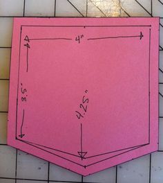 pocket templates for sewing - Google Search