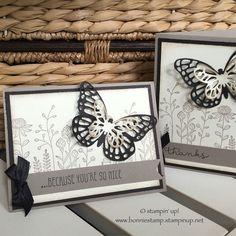 #stampinup #saleabration2016 #floweringfields #butterflies   www.bonniestamp.stampinup.net