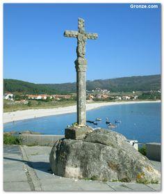 Cruceiro en Fisterra (A Coruña)