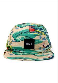 HUF Clothing Hawaiian Volley 5-Panel Strapback Hat - Tropical $36.00