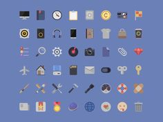 Icons - Free PSD