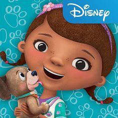 "Help Take Care of Toy Pets with the New ""Doc McStuffins Pet Vet"" App Doc Mcstuffins, Disney Junior, Old Kids Cartoons, Vet Scrubs, Ice Bear We Bare Bears, Pet Vet, 4 Year Olds, Princesas Disney, Best Brand"