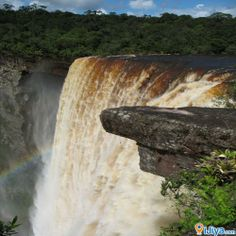 Kaieteur Falls, Kaieteur National Park, Potaro-Siparuni, Guyana a high-volume waterfall on the Potaro River in central Guyana. iJiya TAG :8235614