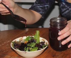 Wild Blueberry Vinaigrette