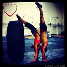 Such a crossfit couple photo lol