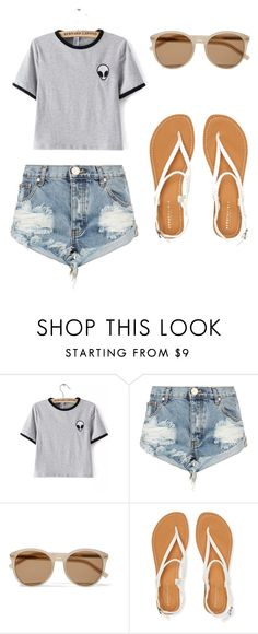 """""""Casual teen"""" by echmielewski26 ❤ liked on Polyvore featuring One Teaspoon, Yves Saint Laurent and Aéropostale"""